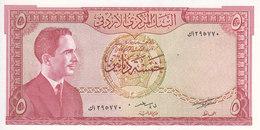 JORDAN 5 DINARS 1959 P-15b UNC */* - Jordanien