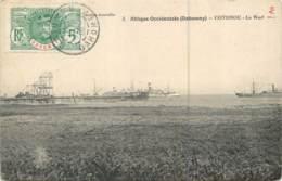 Afrique - DAHOMEY - Cotonou - Le Warf 2 - Timbre Des Colonies - Dahomey