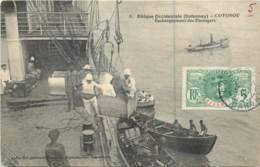 Afrique - DAHOMEY - Cotonou - Embarquement Des Passagers - Timbre Des Colonies - Dahomey
