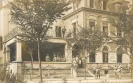 ALL - Godesberg Muffendorf  - Hotel Restaurant Pension Barthel Hochourtel - AK Foto Französische Soldaten 1921 - Other