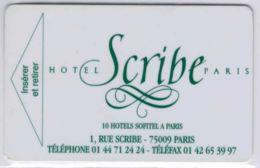 HOTEL SCRIBE Paris Sofitel Pub Printemps - Clef D`hotel / Room Key  - Voir Scans - France