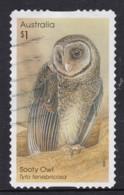 Australia 2016 Owls $1 Sooty Owl Self-adhesive Used - - 2010-... Elizabeth II