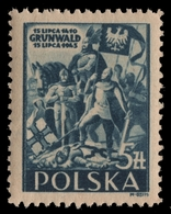 Polen 1945 - Mi-Nr. 405 ** - MNH - Schlacht Um Grunwald - 1944-.... Republik