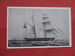 Skonnerten Apenrader Paket   -ref    3551 - Sailing Vessels