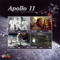 Nevis  2019  APOLLO 11 ,space    I201901 - St.Kitts And Nevis ( 1983-...)
