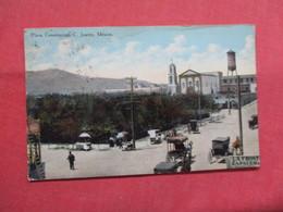 Plaza Constiucion  Top Left Corner Crease  Juarez Mexico       Ref   3551 - Mexico