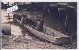 EQUATEUR- GUYAQUIL- CARTE-PHOTO- PECHEUR- 1925 - Ecuador