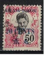 KOUANG TCHEOU            N°     YVERT      46        OBLITERE       ( Ob  5/10 ) - Kouang-Tchéou (1906-1945)