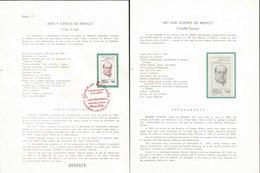 V) 1987 MEXICO, ART AND SCIENCE OF MEXICO( TWELFTH SERIES), GENARO ESTRADA, FDB - Mexico