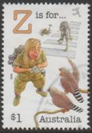 """AUSTRALIA - USED 2018 $1.00 Fair Dinkum Aussie Alphabet """"Z"""" Is For Zoologist, Zebra Finches (birds) - Used Stamps"""