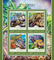 Djibouti 2016 Fauna Turtles - Djibouti (1977-...)