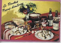 LA FONDUE FRANC COMTOISE - Küchenrezepte