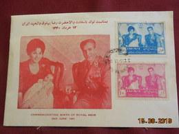Enveloppe Commémorative De 1961 D'Iran - Iran