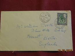 Lettre De 1941 De St Vincent à Destination D'Angleterre - St.Vincent (...-1979)