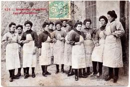 CPA Roquefort 12. Les Cabanières. 1905 - Roquefort