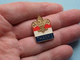 PIN > Scouting THANKS ( See / Voir / Zie Photo ) ! - Pfadfinder-Bewegung