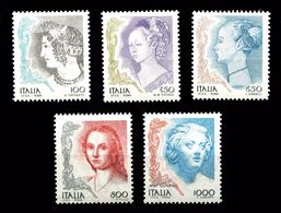 ITALIA REPUBBLICA 1998  SERIE COMPLETA USATA LA DONNA NELL' ARTE - 2001-10: Usati