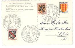21022 - EMILE VERHAEREN - Marcophilie (Lettres)