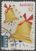 AUSTRALIA - DIE-CUT-USED 2017 $2.00 Christmas, International - Bells - 2010-... Elizabeth II