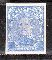 Emission De 1915* -  Essai Non Dentelé En Bleu Sans Valeur Faciale - MH* - Pour Spécialiste - LOOK!!!! - Proofs & Reprints