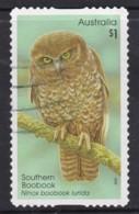 Australia 2016 Owls $1 Southern Boobook Self-adhesive Used - - 2010-... Elizabeth II