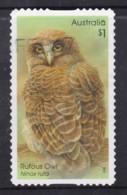 Australia 2016 Owls $1 Rufous Owl Self-adhesive Used - - 2010-... Elizabeth II