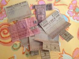 Tickets De Rationnement 1941 - France