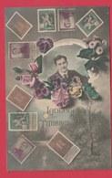 Langage Des Timbres ... Belges / Taal Van De Belgische Postzegel - 1912 ( Voir Verso ) - Timbres (représentations)
