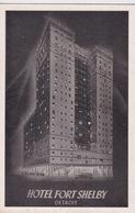 ETATS UNIS - MICHIGAN - DETROIT - HOTEL FORT SHELBY - Detroit