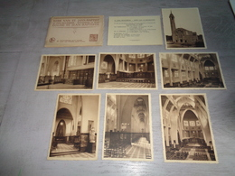 Belgique  België  ( 137 )  St. - Jans - Molenbeek  Molenbeek St. Jean - Lot Van 7 Postkaarten - Kerk  église - St-Jans-Molenbeek - Molenbeek-St-Jean