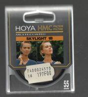 HOYA HMC FILTER 55 MM SKYLIGHT 1B MADE IN JAPAN - Matériel & Accessoires