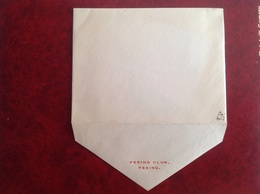 Enveloppe Peking Club Années 50 - Zonder Classificatie