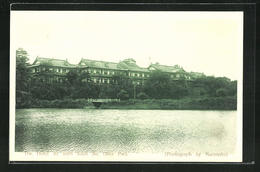 AK Nara, The Hotel As Seen From The Deer Park - Japan