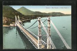 AK Santos-Sao Vicente, Ponte Pensil - Brazilië