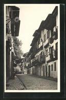 Postal Fuenterrabia, Calle De San Nicolas - Espagne
