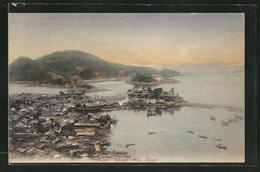 AK Bingo, Tomo Inland Sea, Ortspartie Am Wasser - Japan