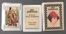 GRIMAUD JEU DE CARTES JAPONAIS PAR SILVIA MADDONNI - Autres Collections