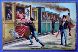 CHROMO  LIEBIG.....S 306....VOYAGE EN TRAIN.......LES PLAISIRS DU DÉPART - Liebig