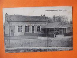 Cpa  Bourbourg Coppenaxfort 59 Nord école - Autres Communes