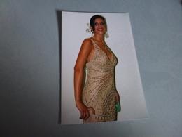 REPRODUCTION PHOTO ...BELLE FEMME SEXY EN ROBE - Personnes