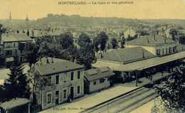 MONTBELIARD  La Gare Et Vue Generale RV - Montbéliard