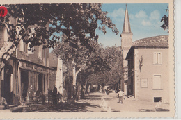 ST Hippolyte Du Fort  Boulevard Gambetta  L'église - Otros Municipios