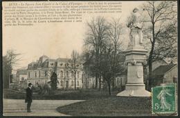 CP 89 Sens - Le Square Jean Cousin Et La Caisse D'Epargne 1909 - Sens