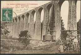 CP 50 Fermanville - Le Viaduc 1910 - Otros Municipios
