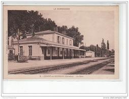 CONDE SUR NOIREAU - La Gare - Très Bon état - Frankreich