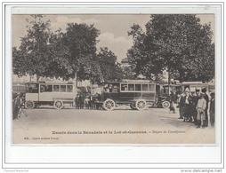 CASTELJALOUX : Autobus  - Très Bon état - Casteljaloux