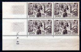 FRANCE - YT PA N° 24 Bloc De 4 Coin Daté - Neufs ** - MNH - Cote: 8,00 € - Airmail