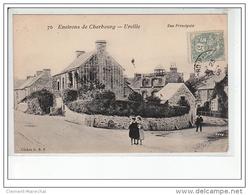 Environs De CHERBOURG - URVILLE - Rue Principale - Très Bon état - France