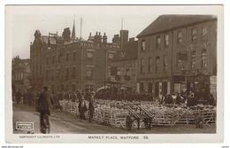 UNITED  KINGDOM:  WATFORD  -  MARKET  PLACE  -  PHOTO  -  FP - Piazze Di Mercato