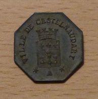 UNION DES COMMERCANTS 25 Centimes Castelnaudary - Monétaires / De Nécessité